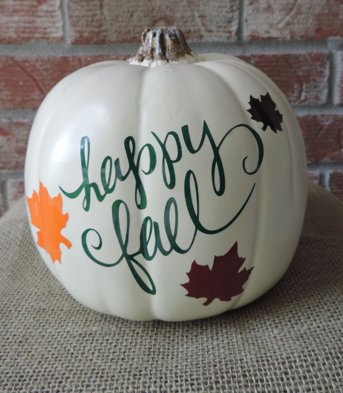 Fall Decals for pumpkins