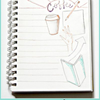 Color And Write With This Morning Page! Free Printable Coloring Journal Page