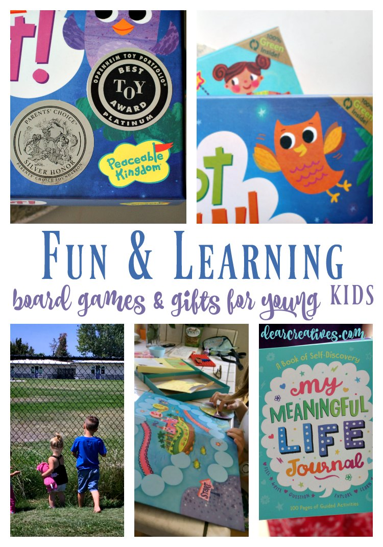 Fun Stuff For The Kids: Board Games And Gift Ideas For Learning