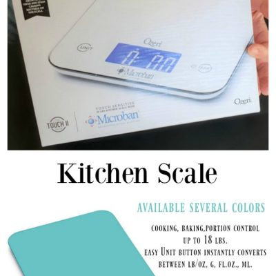 Looking For An Accurate Kitchen Scale? Ozeri Touch II Kitchen Scale Review