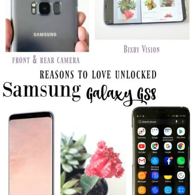 Samsung Galaxy  S8  GS8 and GS8+ Unlocked