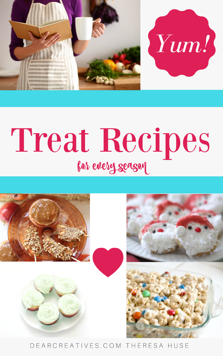 Treat Recipes a growing collection of treat recipes and ideas for every season.
