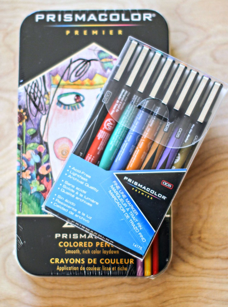 art supplies fine line markers Prismacolor - DearCreatives.com