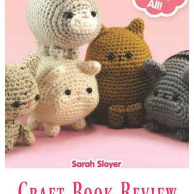 craft book review Dumpling Cats a crochet book with 25 patterns and instructions. Find out more DearCreatives.com