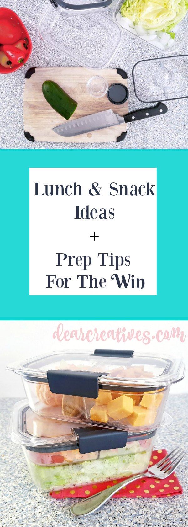 Ready For On The Go Lunch And Snack Time Day After Day? Prep Tips For The Win