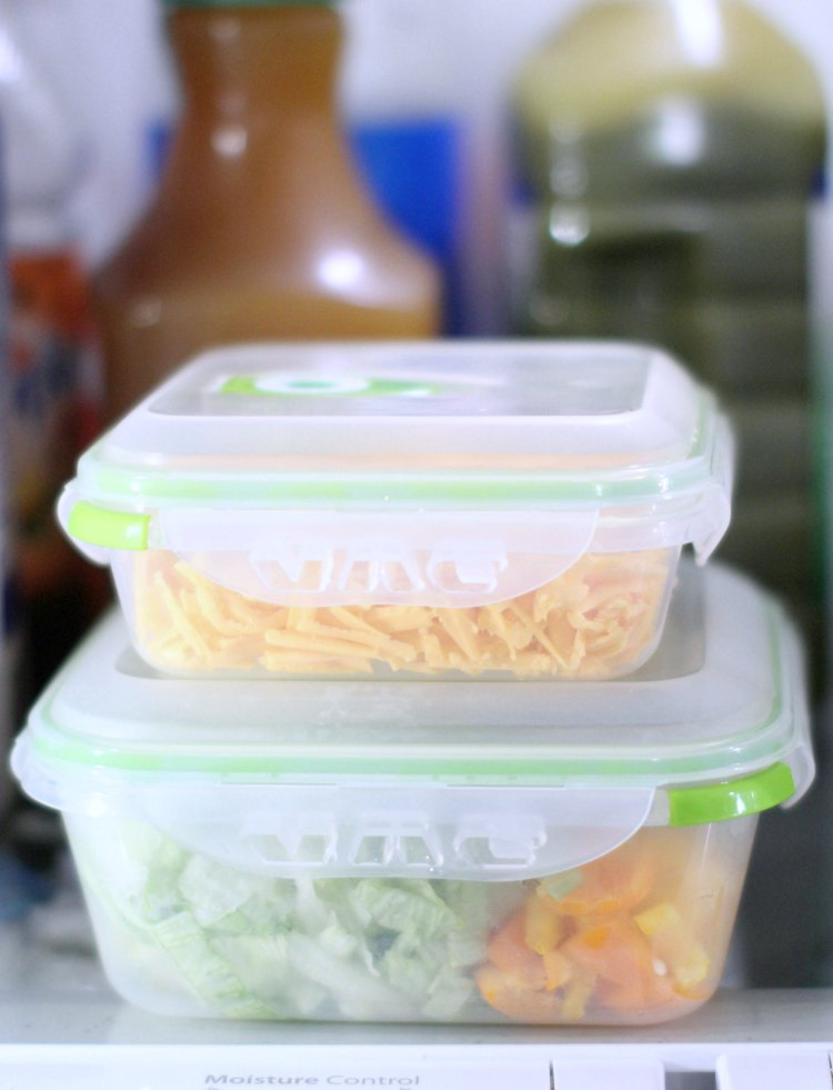 New in the kitchen ozeri food storage container review food storage containers review dearcreatives food containers prepped with taco fixings for dinner forumfinder Image collections