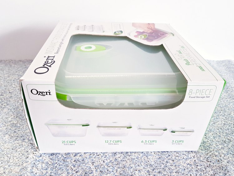 Ozeri Food Storage Container Sizes