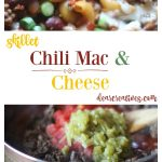 Ground Beef Recipes Chilli Mac and Cheese an easy one pot chilli mac recipe. Use your favorite cheese. You'll love this easy homemade dinner any night of the week.