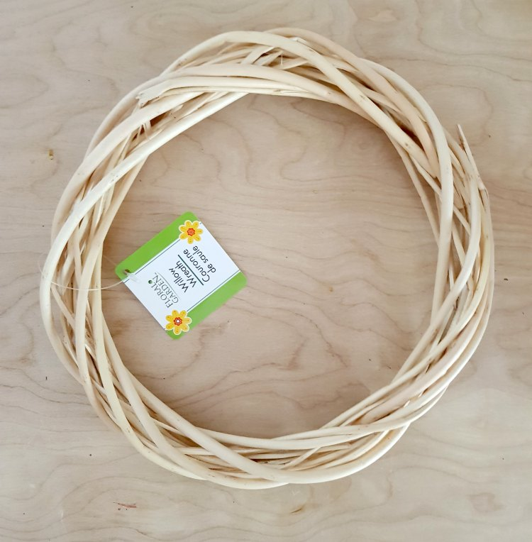 Willow grapevine wreath