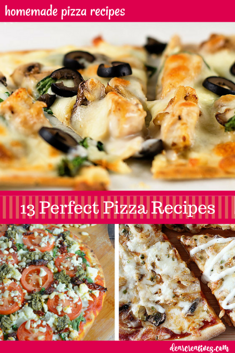 The Best Pizza Recipes Pizza, Pizza 13+ Perfect Pizzas