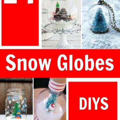 14 Fun and Easy Snow Globe Crafts You'll Love Crafting