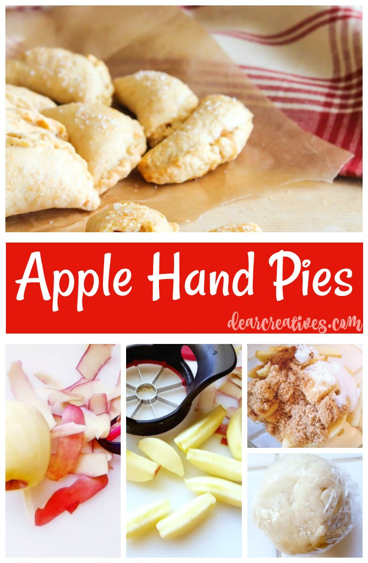 Apple Hand Pies – All Butter Crust Recipe
