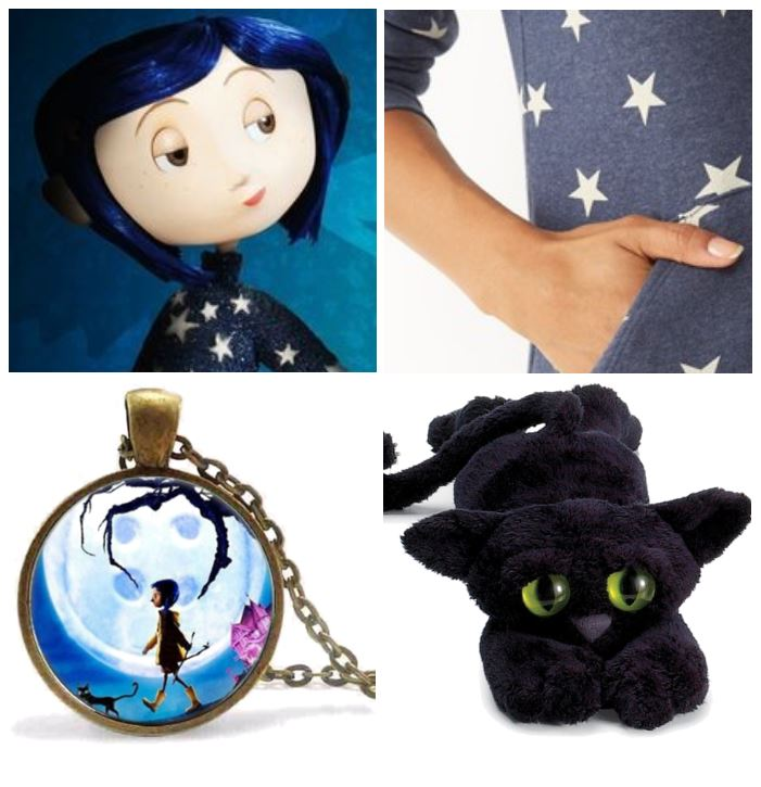 Coraline no sew costume ideas, see the full outfit, and our picks to make the Best Coraline Costume! DearCreatives.com