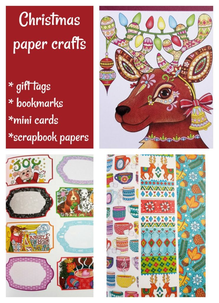 Craft books gifts guide Christmas paper crafts, and more craft book ideas. DearCreatives.com