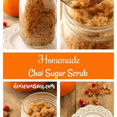 Easy To Make Homemade Chai Sugar Scrub DIY