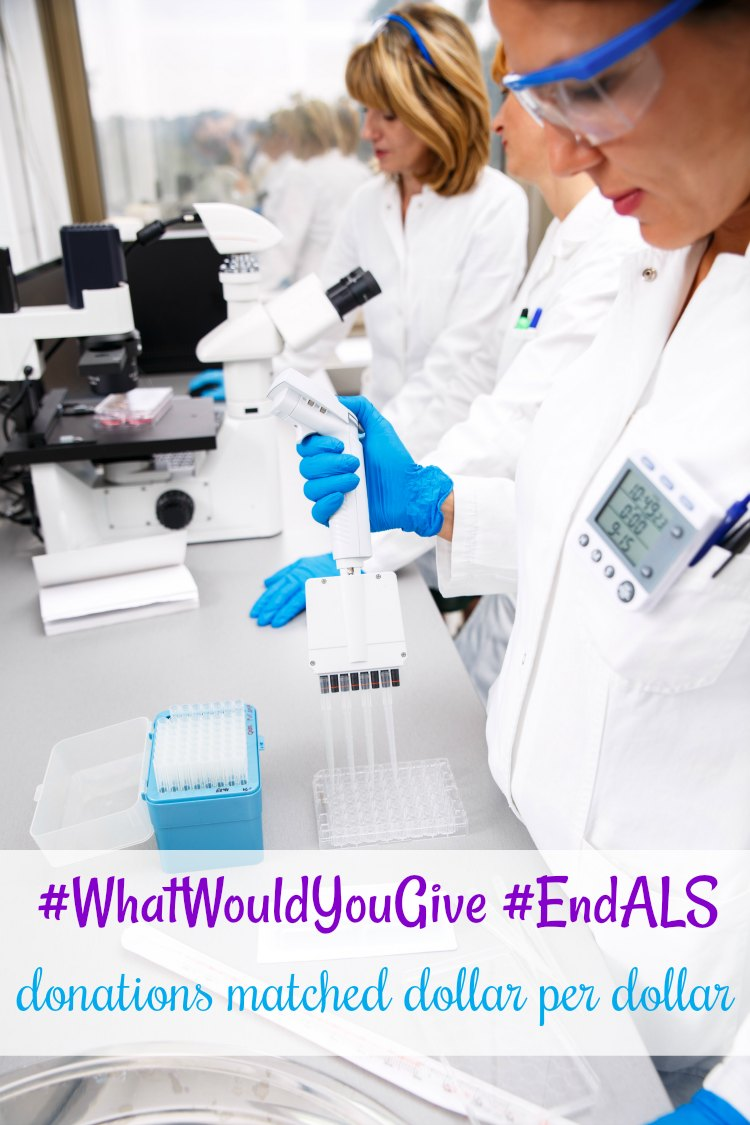 End ALS #WhatWouldYouGive #EndALS see where to donate, and match dollar per dollar DearCreatives.com