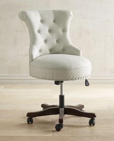 Hour Glass Swival Office Chair