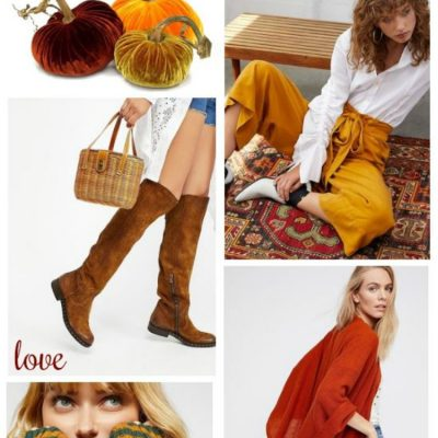 Fall Fashion Must Haves Pumpkin Spice And Everything Nice