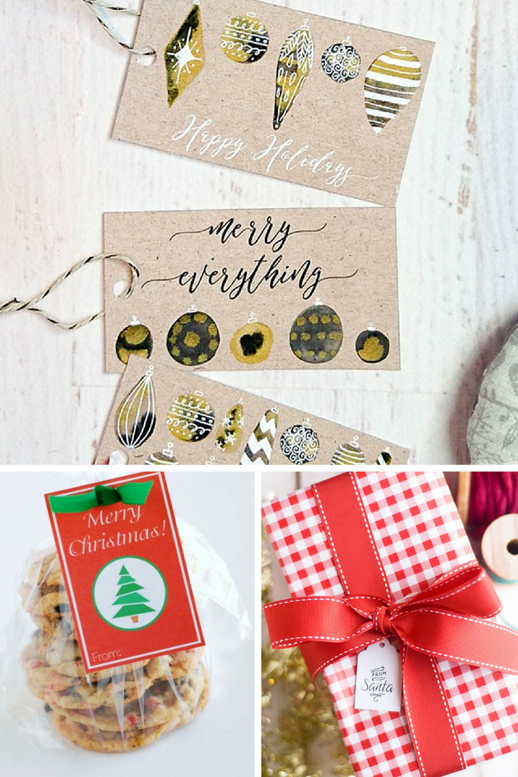 11 Gift Tags to Print for the Holidays