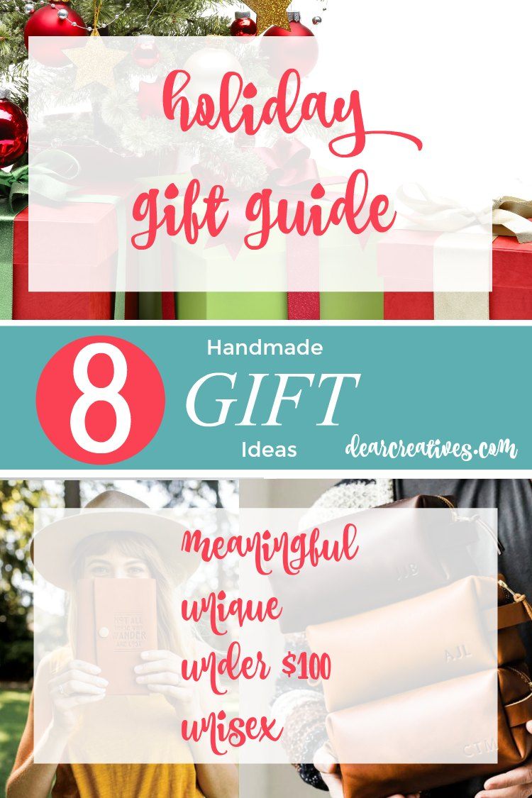Holiday Gift Guide Handmade Gift Ideas Under $100 Sure to Delight