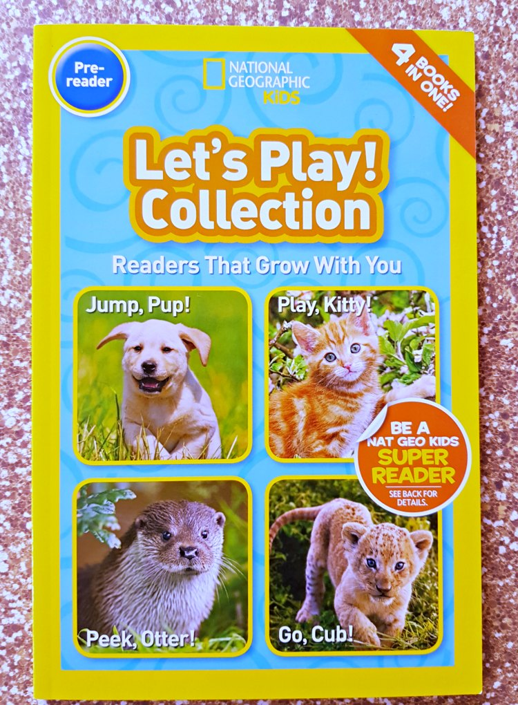 Pre-reader National Geographic Kids Let's Play collection