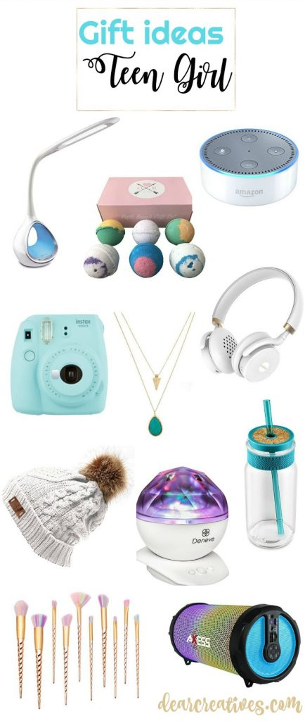 gift ideas teen girls so many gift ideas to pick from that your teen will love! See them all at DearCreatives.com #gifts #teengirls #giftguide #giftsideas #christmas #birthdays #holidays