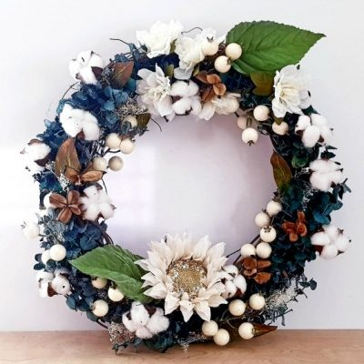 Farmhouse Wreath DIY