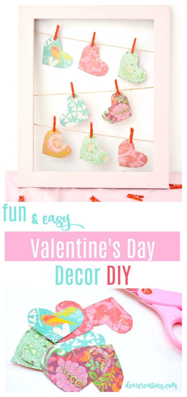 Valentine's Day Decor DIY