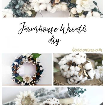 You'll Love Making This Farmhouse Wreath DIY For Your Home Decor!