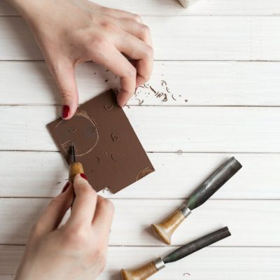 Printmaking Crafts To Try at Home! + DIY Hand Printing