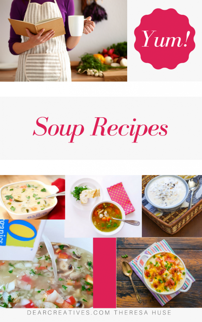 Soup Recipes - The best soup recipes at DearCreatives.com