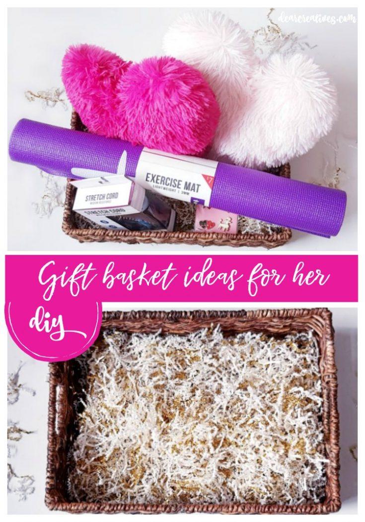 Make a Valentine's Day Gift Basket