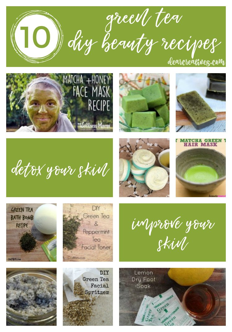 Get Green With Your Skincare 10 Must Try Green Tea DIY Beauty Recipes