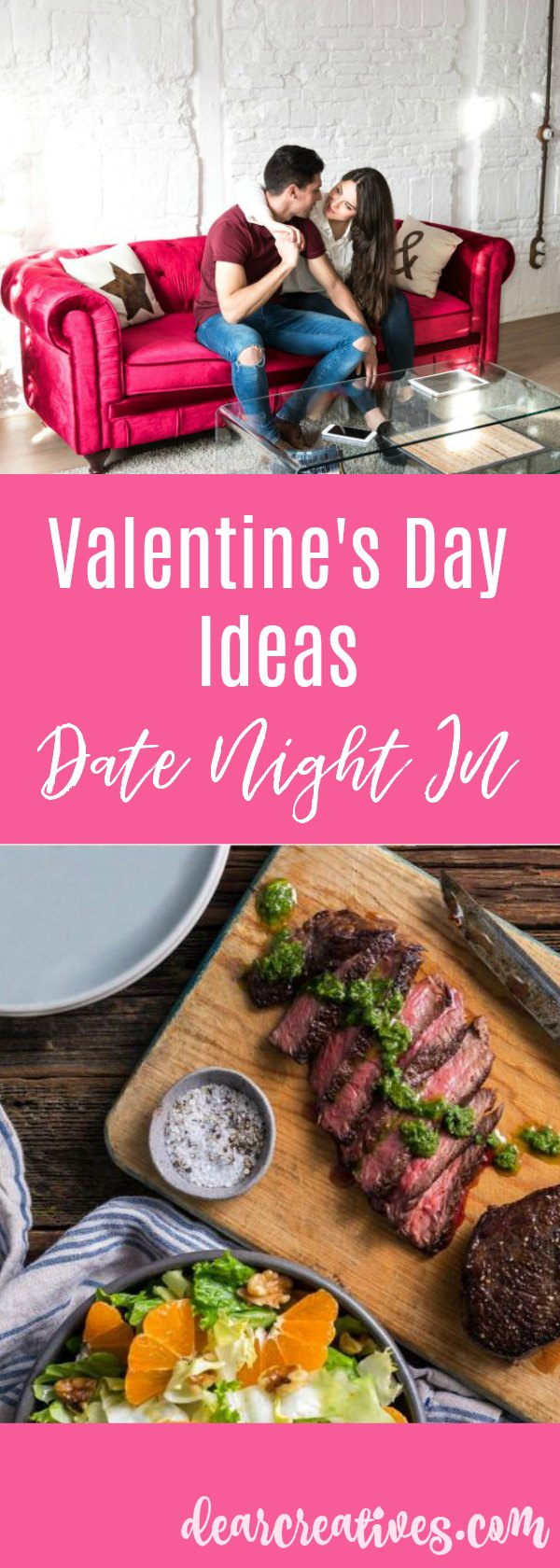 Plan a Valentine's Day Date Night at Home + Gift Ideas to Snuggle up to Under $20