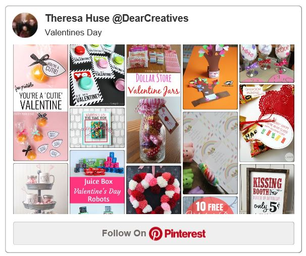 Valentines day ideas on Pinterest that we love. Crafts, DIY, recipes, candy recipes, and more all for your Valentines.