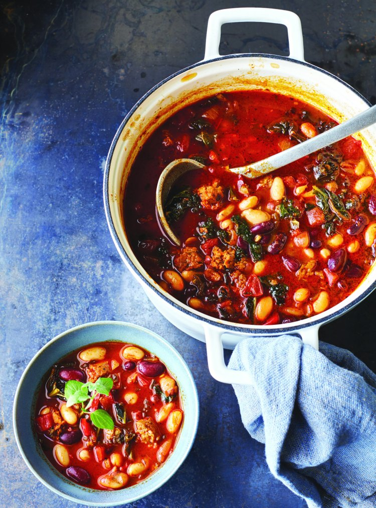 Vegan Chili Perfect for Meatless Monday's or Any Night of the Week