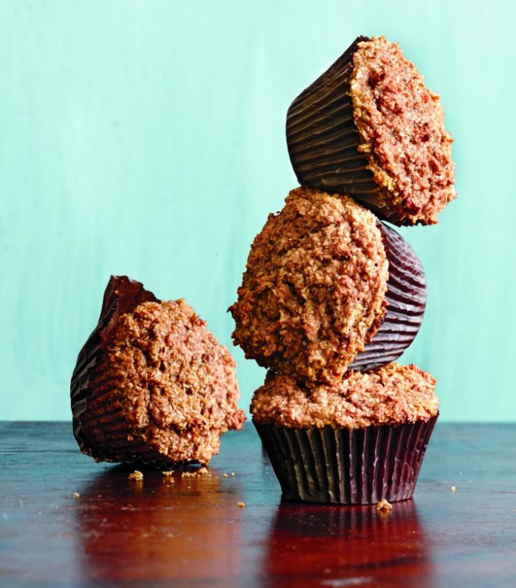 This classic recipe uses naturally sweet dates and ripe bananas to give these muffins a health boost. You can freeze these muffins for up to 2 months.