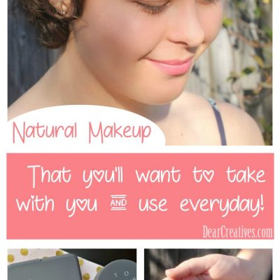 Natural Makeup Ideas, and natural makeup for on the go