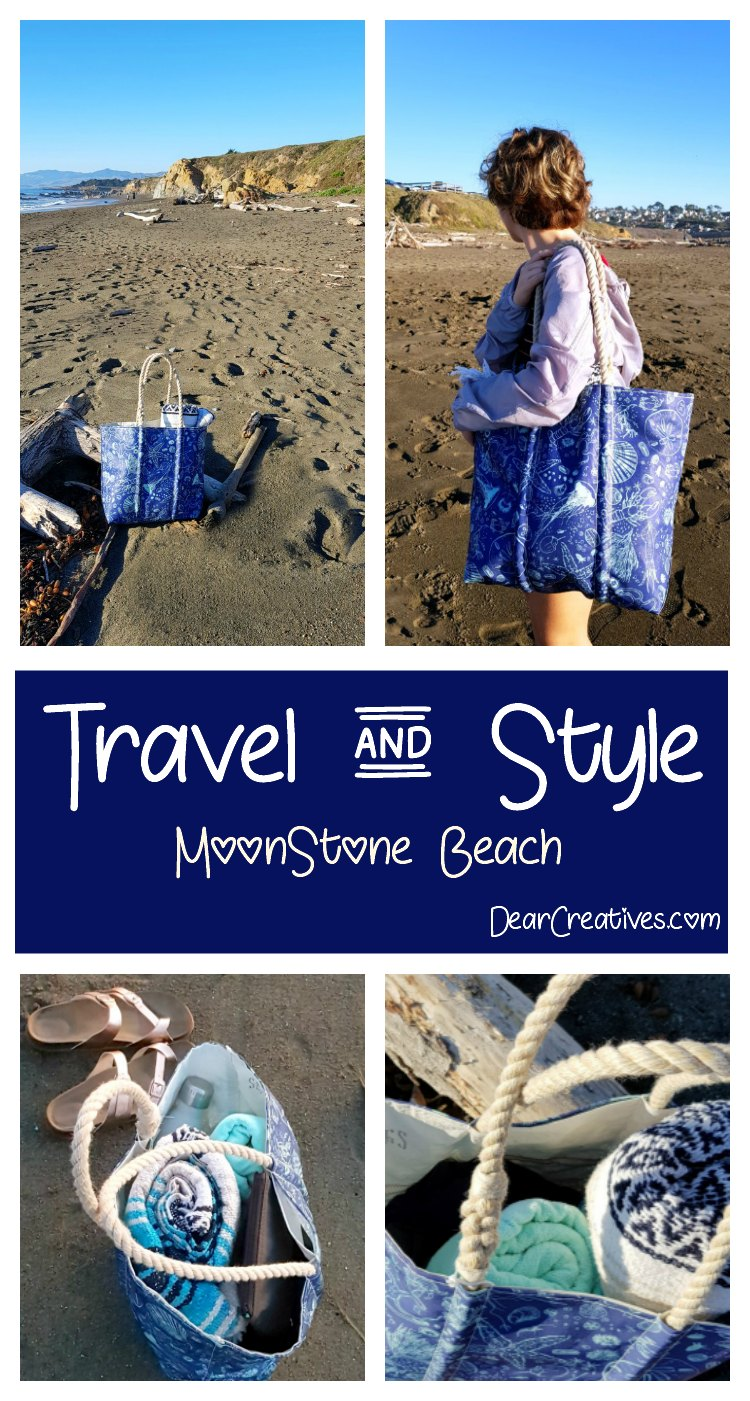 Travel + Sea + Beach Bags- California Beach Travel It's Easy If You Do It Smart