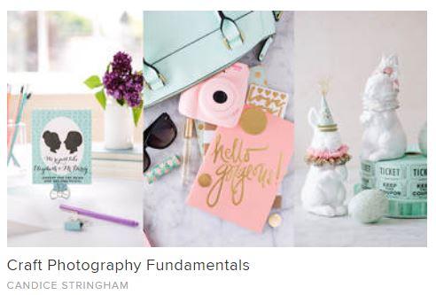 Craft photography fundamentals