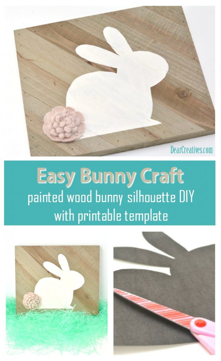 Bunny Craft with Free Template
