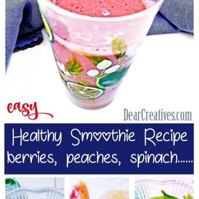 Berry Green Smoothie Recipe Healthy and Tasty