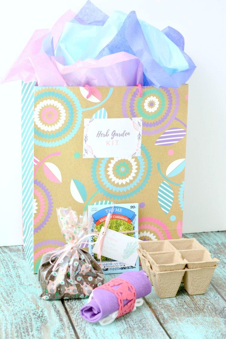 Mother's Day gift idea Herb Garden Kit DIY DearCreatives.com