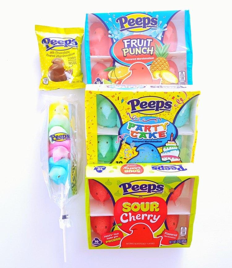 PEEPS® Candy Easter Treats Mike and Ikes, jelly beans #PEEPSONALITY #Sponsored DearCreatives.com