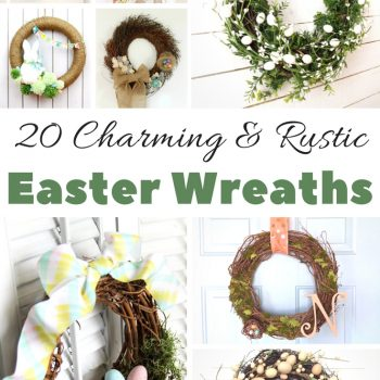 The Best Spring – Easter Wreath Ideas to Make at Home