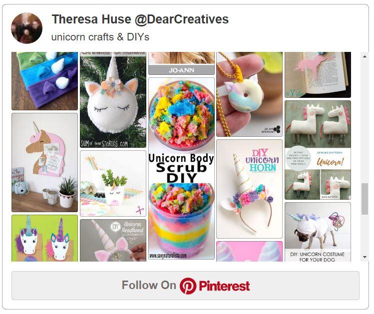 Unicorn Crafts Pinterest
