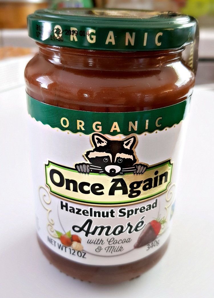 Organic Once Again Hazelnut Spread Amore with Cocoa and Milk DearCreatives.com