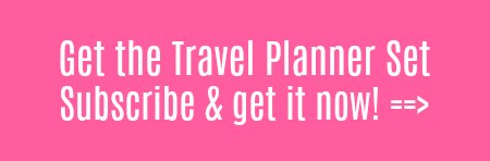 Subscribe, and receive our free travel planner. By Clicking here you agree to get our newsletter, and free stuff!