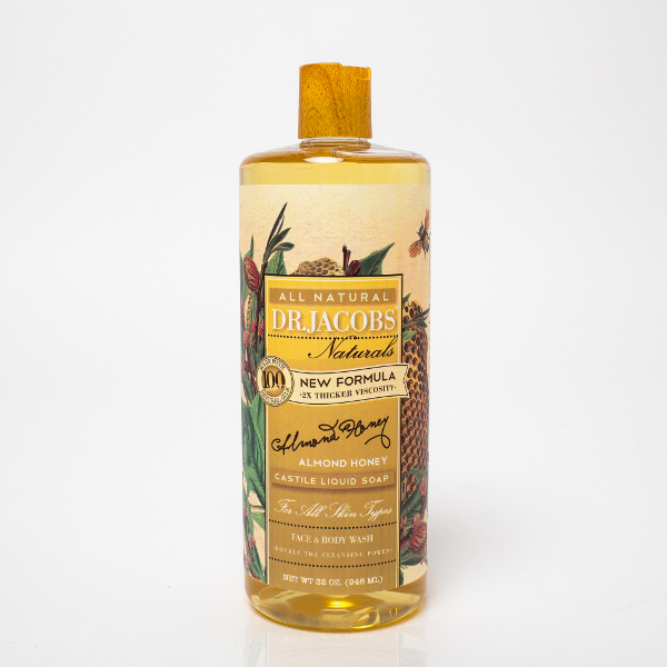 Dr. Jacobs-almond honey Castile soap