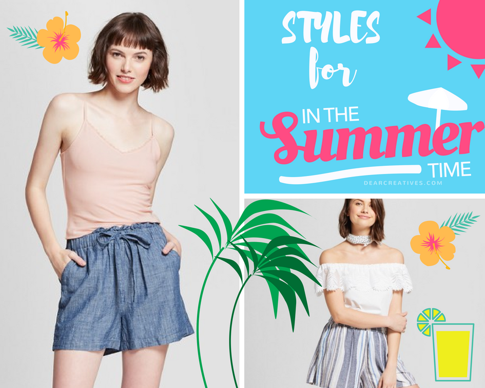 Yeah For Summer Fashions! Summer Outfit Ideas -Target Style Guide